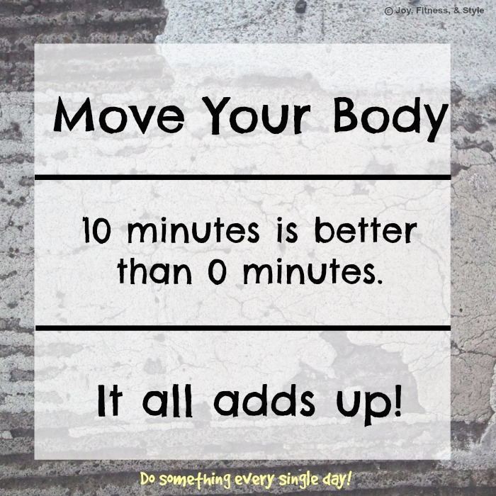 Move Your Body Everyday