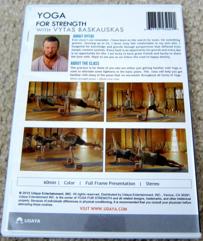 Yoga for Strength DVD Review