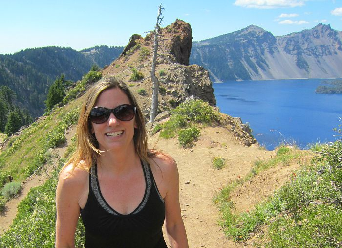 crater lake hike