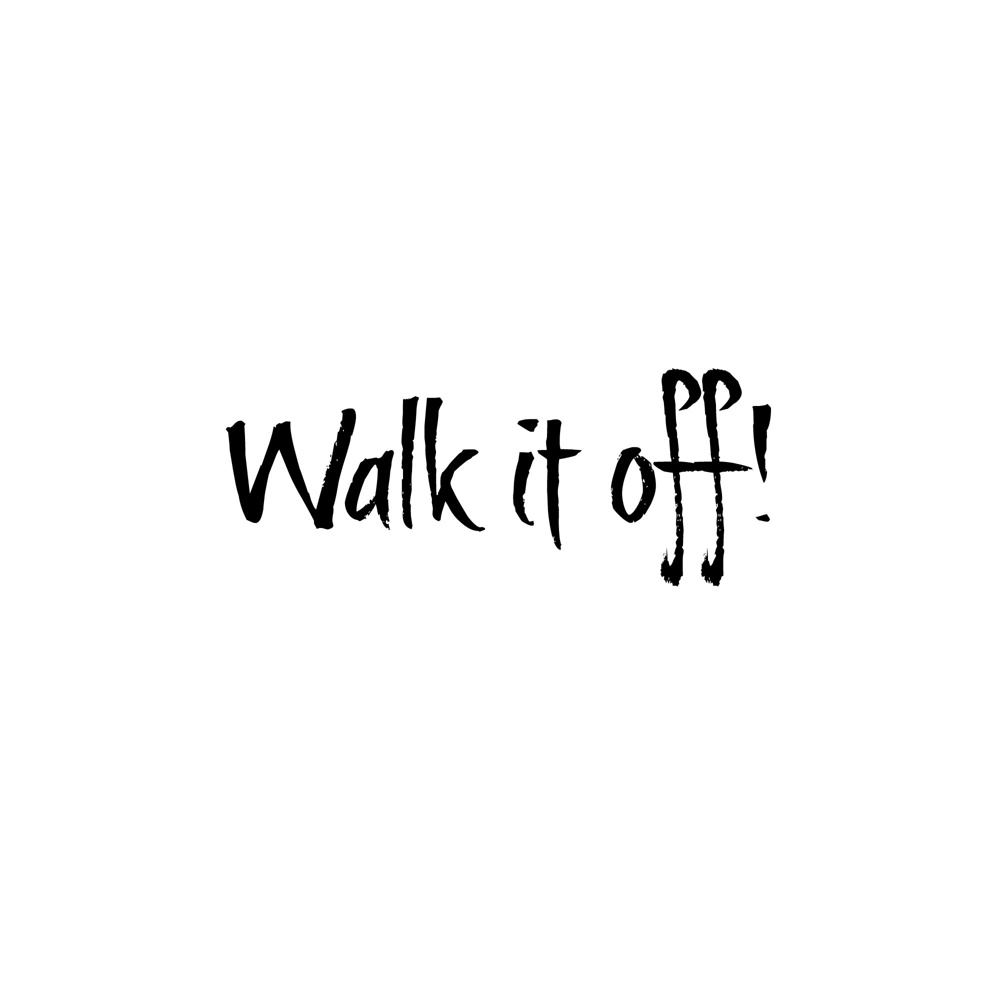 Walk It Off Joy Fitness Amp Style