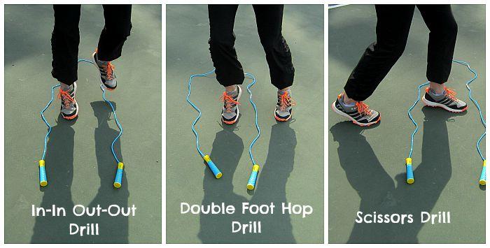 TKO Soft Grip Jump Rope Agility Drills